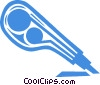 Vector Clip Art image  of a exacto knife