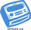 Vector Clipart illustration  of a radio