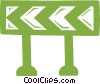 barriers Vector Clip Art picture