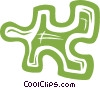 piece of a puzzle Vector Clipart picture