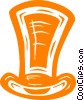 Vector Clipart image  of a top hat