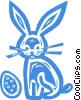 Easter bunny Vector Clip Art picture