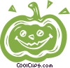 jack-o-lantern Vector Clipart graphic