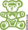 teddy bear Vector Clip Art graphic