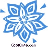 poinsettia Vector Clip Art graphic