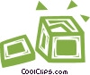 Vector Clipart illustration  of a shipping crate