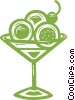 Vector Clip Art graphic  of a dessert