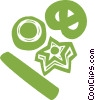 Vector Clipart picture  of a Christmas cookies