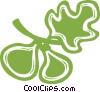 Vector Clip Art picture  of an acorns