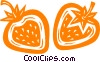 strawberries Vector Clipart image