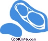 peanut Vector Clipart image