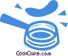 Vector Clip Art picture  of a pancakes