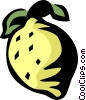 Vector Clip Art graphic  of a lemon/lime