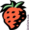 Vector Clipart illustration  of a strawberry