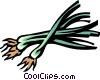 Vector Clipart graphic  of a shallots