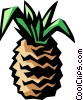 pineapple Vector Clipart graphic