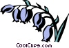 bluebells Vector Clipart graphic