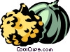 gourds Vector Clipart illustration