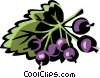 Vector Clipart picture  of a currants
