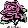 Vector Clipart picture  of a rose