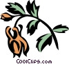 columbine Vector Clipart illustration