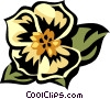 Vector Clip Art graphic  of a morning glory
