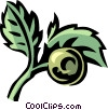 Vector Clipart illustration  of a cowberry