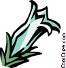 Vector Clipart picture  of a datura
