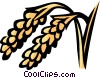 Vector Clipart graphic  of a rice