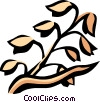 unprocessed grain Vector Clip Art picture