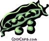 Vector Clipart illustration  of a peas in pod