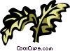 Vector Clip Art graphic  of a kale