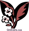 Vector Clipart illustration  of a sand cherry