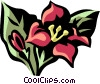 Vector Clipart graphic  of a weigela
