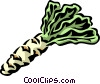 Vector Clip Art graphic  of a celtuce