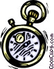 Vector Clipart picture  of a stopwatches