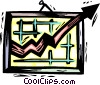 success chart Vector Clip Art picture