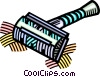 safety razor Vector Clipart picture