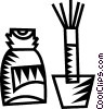 correction fluid Vector Clipart image