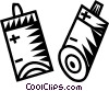 batteries Vector Clipart image