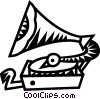 gramophone Vector Clip Art picture