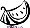 Vector Clip Art picture  of a watermelon