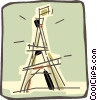 Eiffel tower Vector Clip Art picture