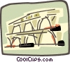 Roman Coliseums Vector Clip Art graphic