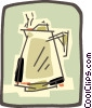 coffee pot Vector Clip Art graphic