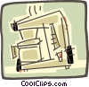 Vector Clipart image  of a coffee maker