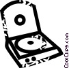 Vector Clipart picture  of a CD roms