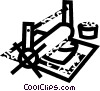 Printing Trade Vector Clipart illustration