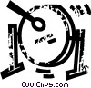 Vector Clipart graphic  of a cymbal