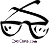 Vector Clipart graphic  of a eyeglasses